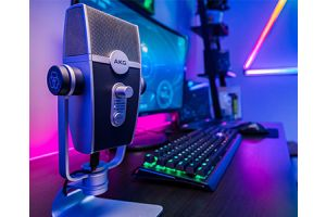 Новинка AKG Lyra C-44 USB. Идеальный микрофон для подкастов, стримов, youtube и звукозаписи.