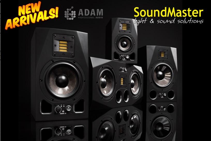 Свежее поступление студийных мониторов ADAM audio на склад!