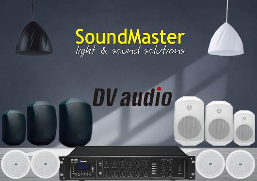 Трансляционные звуковые системы DV Audio радуют новинками в новой поставке летнего сезона.