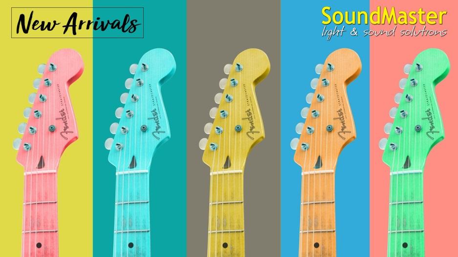 Поступление Fender, Jackson, Squier на склад!