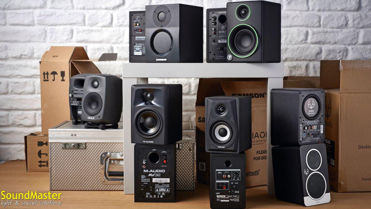 Мониторы для домашней студии, выбираем лучший вариант для дома и небольшой студии.